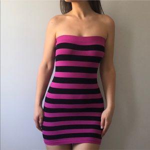 🍒Bebe Strapless Seamless Dress Size P/S
